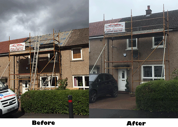 Roofing Repairs Installation In Bibriggs Bernauld Glasgow