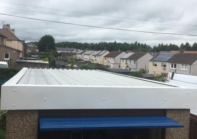 asbestos roof repair Glasgow