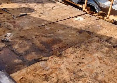 Flat lead roof Glasgow