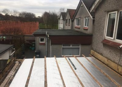 garage roof replacement in Glasgow - after