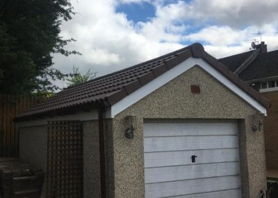 garage roof replacement Glasgow