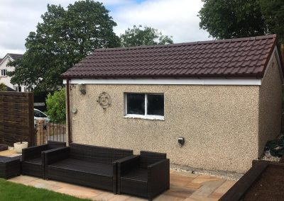 replacement garage roof Glasgow